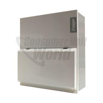 Hager VML933H 6 Way Garage Unit + Main switch, RCD & MCBs